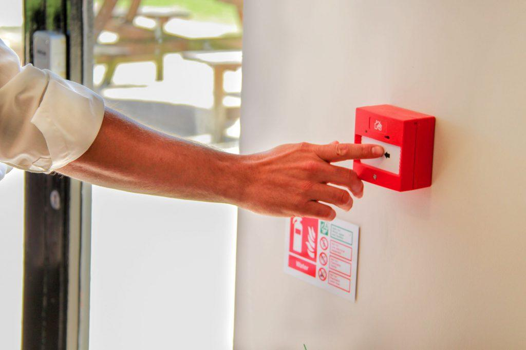 push fire alarm
