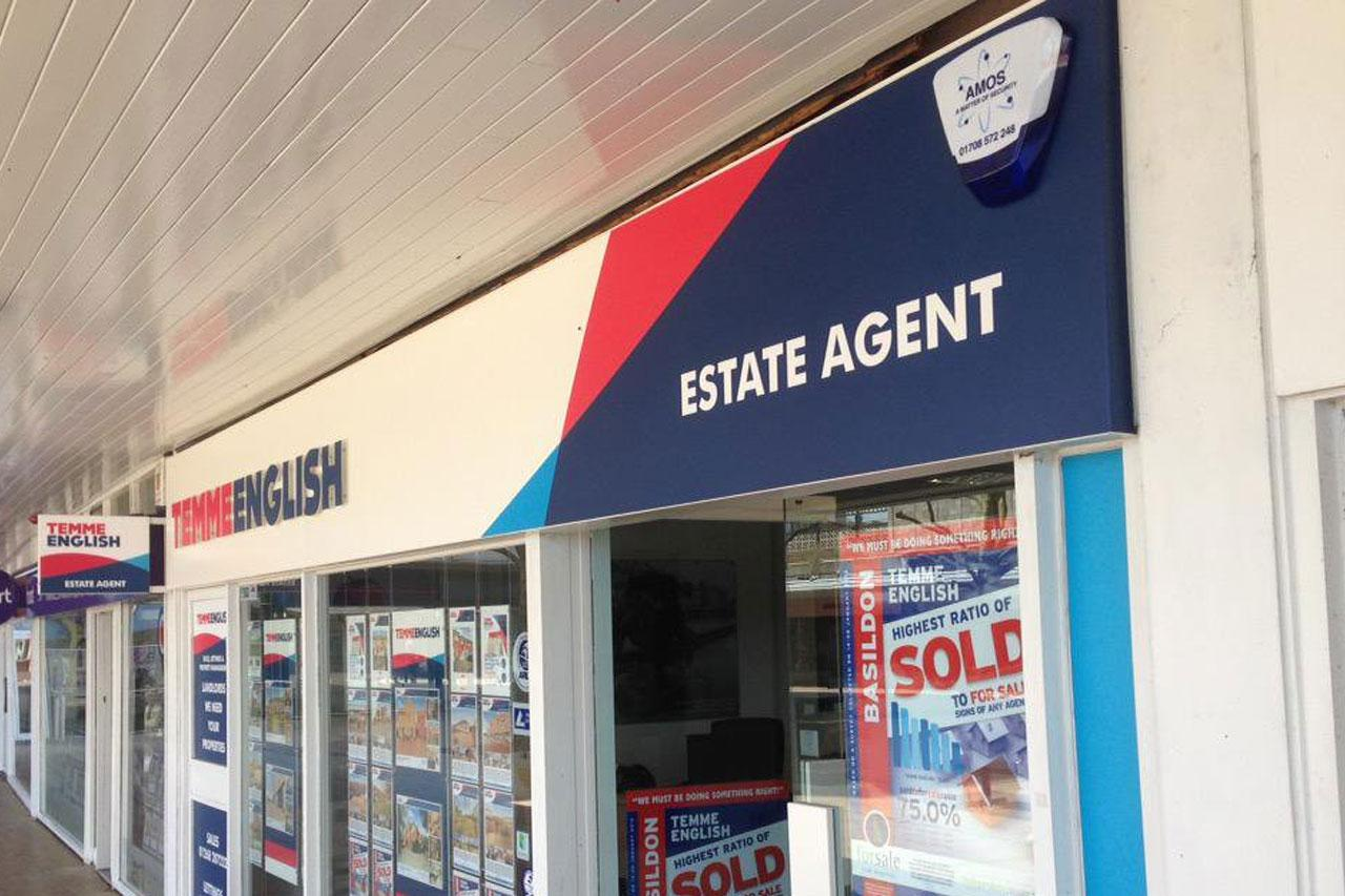 Temme English Estate Agent security