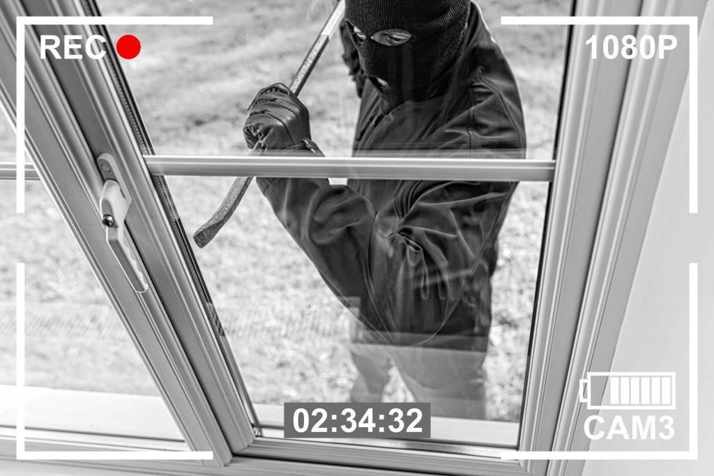 burglar recording system