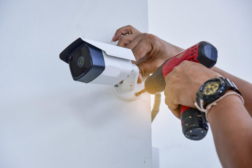 Security camera installation in Brentwood