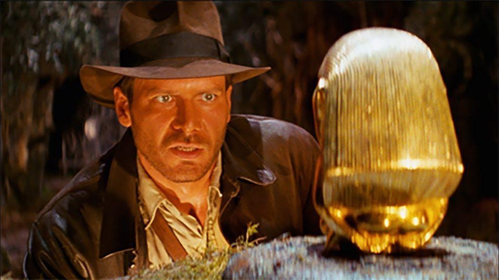 Indiana Jones movie clip