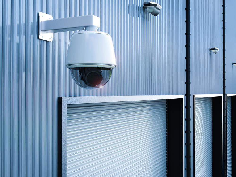 CCTV outside warehouse