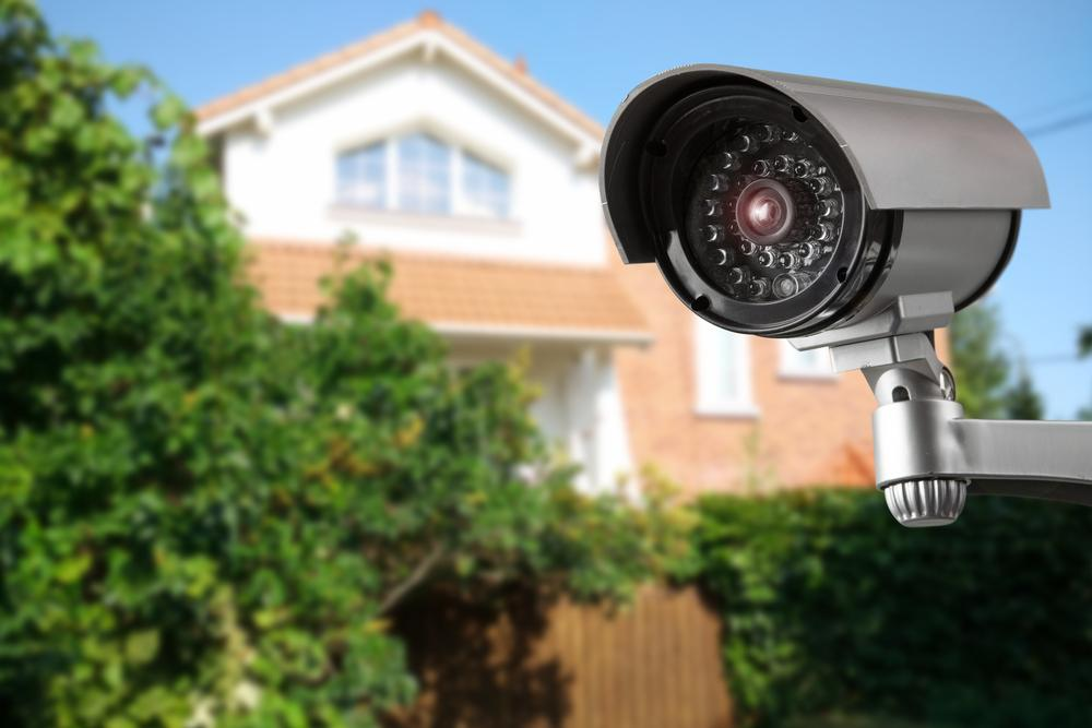 cctv camera near house